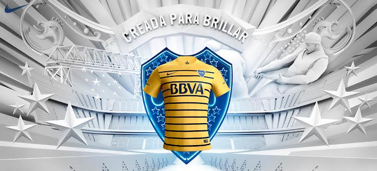 Nueva camiseta alternativa Nike de Boca para el 2016