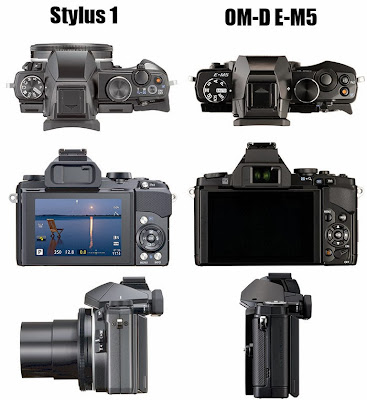 Olympus Stylus 1 vs Olympus OM-D E-M5, new olympus camera, video, full HD, stereo sound video, optical zoom, super zooom camera, long zoom
