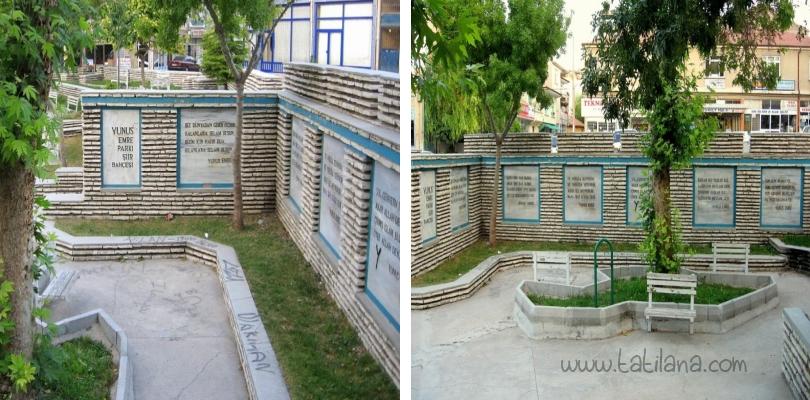Karaman Yunus Emre Parkı Şiir Bahçesi