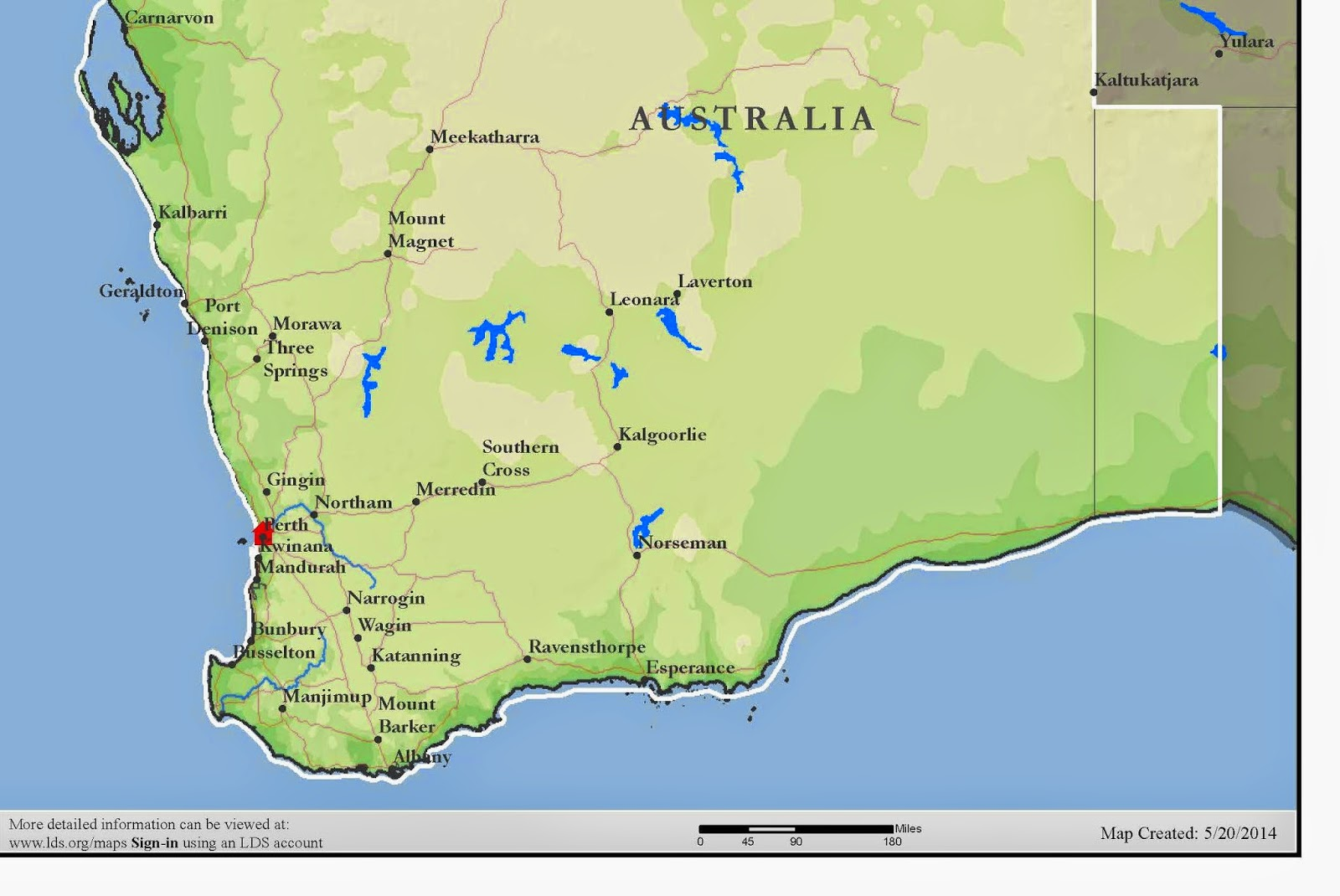 Sister rebecca formica map of australia perth mission south half of the mission gumiabroncs Images