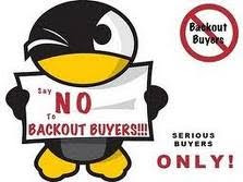 no backout buyer please.....