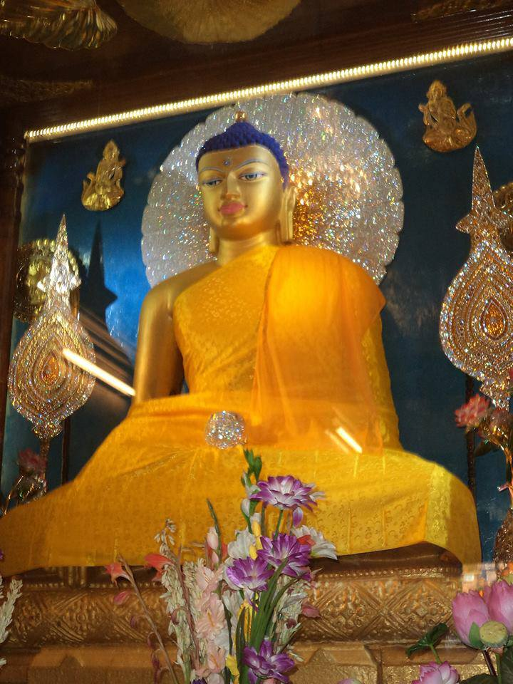 Gautama buddha at bodhgaya , bihar , INDIA  Photo :: Sooraj Kumar
