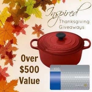Enter the Le Creuset and $100 Gift Card Giveaway