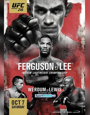 Ver UFC 216. Ferguson vs Lee En VIVO Gratis