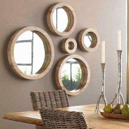 espelho%2B1 Decore a Sala Com Espelhos