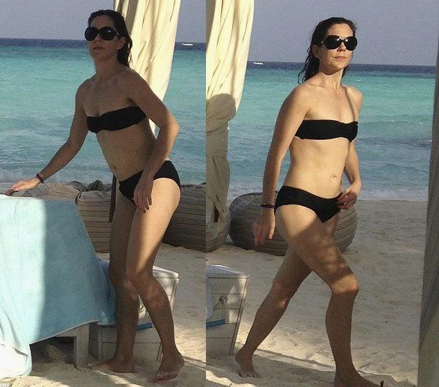 Princess Mary of Denmark flaunts her bikini beauty in Maldives
