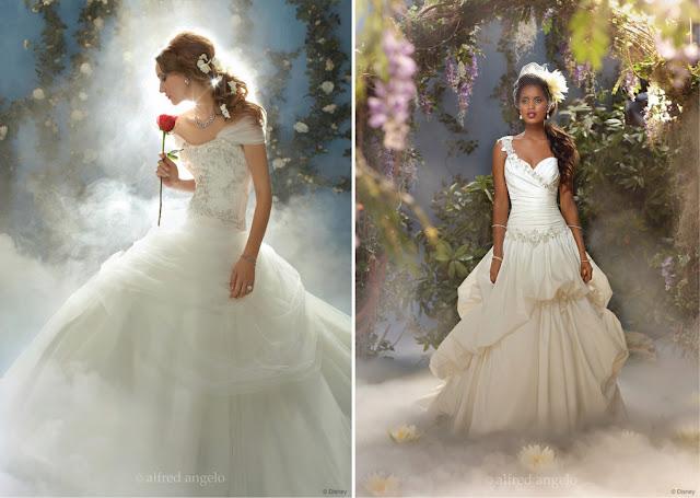 Disney Princess Wedding Dresses Belle : Modern fairy tale princess wedding dresses part