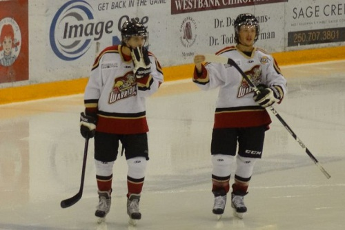 hockey players west kelowna warriors