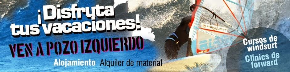 LPWindsurf - Pozo Izquierdo  - Escuela Windsurf - Escuela Kitesurf Gran Canaria
