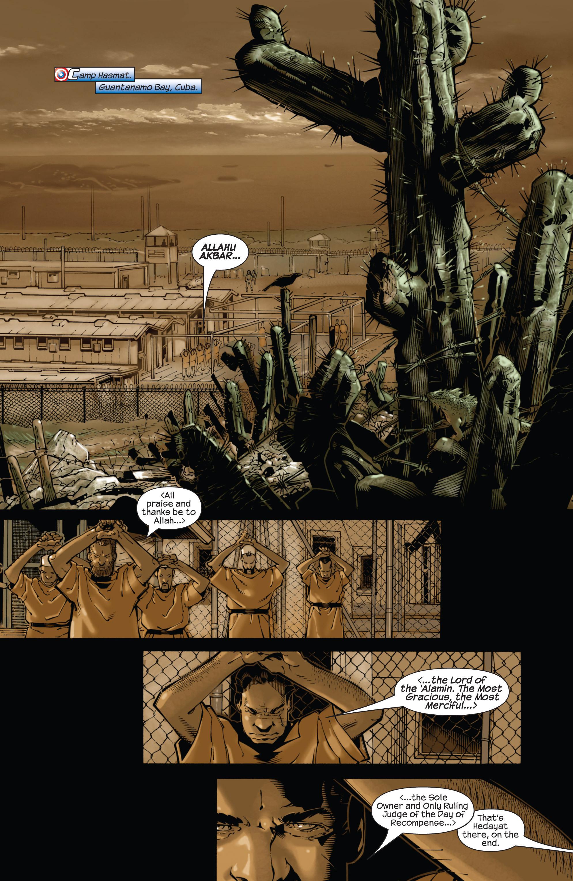 Captain America (2002) Issue #22 #23 - English 10