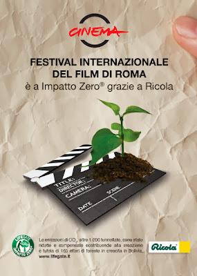 Festival del cinema di Roma e Lifegate