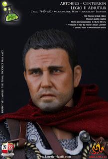 """Kaustic Plastic 1/6 scale """"Artorius"""" Centurian Legio II Adiutrix figure"""