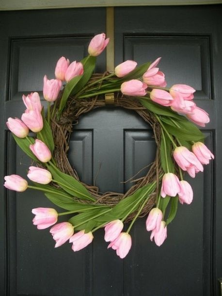5 festive easter wreaths | Through the Front Door