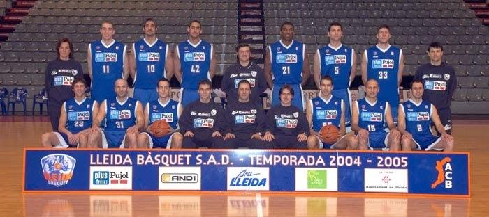 LLEIDA BASQUET 2004-2005. Liga ACB