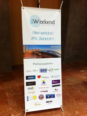 iWeekend+Benidorm+2012+Colaboradores iWeekend Benidorm 2012 con casi 1.400.000 receptores #iW Benidorm y en La1, Antena3, Tele5, La Cuatro, Canal 9, El Mundo, ABC...