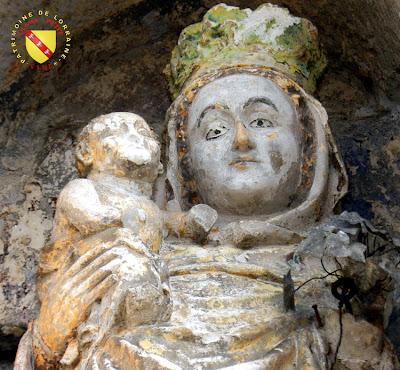 VOID-VACON (55) - Le château -Tour de l'Audience - Vierge à l'Enfant