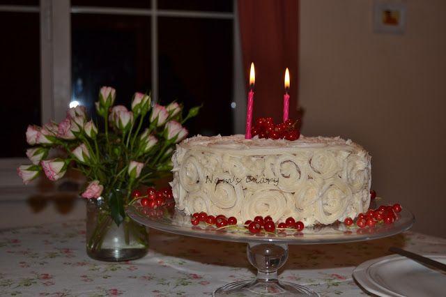 Swirl's & Heart Cake
