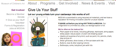 Musuem of Children's Art web site