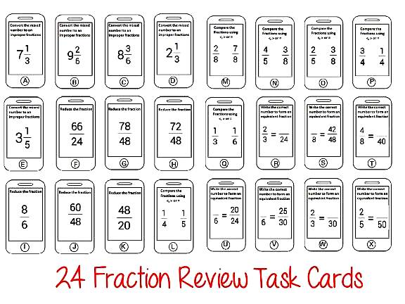 Reduce Fractions Worksheets – Fractions in Lowest Terms Worksheets