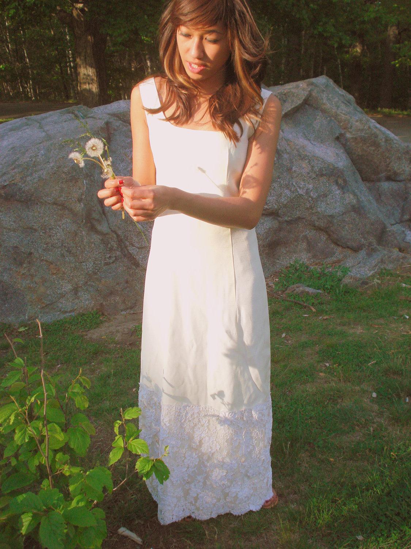 HOMADITHA: Robe de mariée vintage très simple