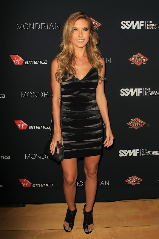 Audrina Patridge at 2012 Sunset Strip Music Festival Party