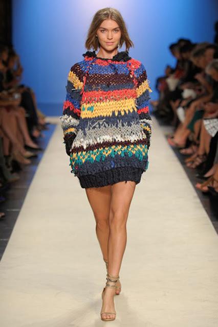 isabel marant, duże swetry, duże kolorowe swetry