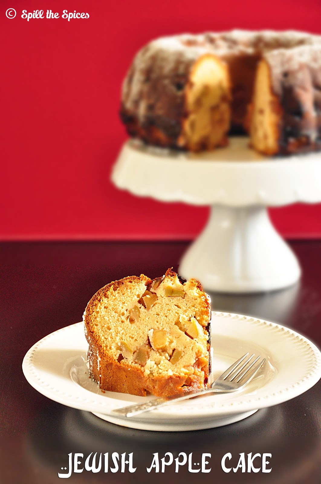 Jewish Apple Cake With Crumb Topping