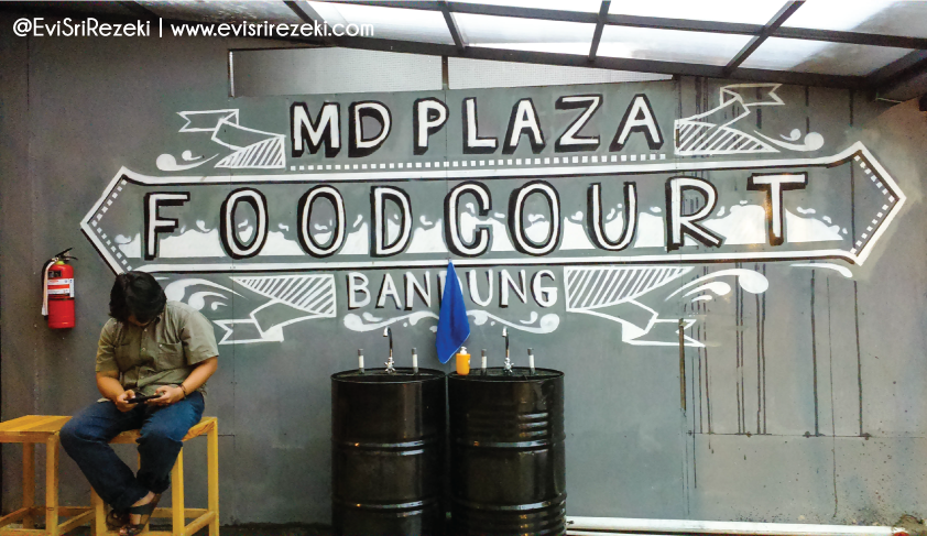 DeHape: Food Court Unik Buat Nongkrong Asyik