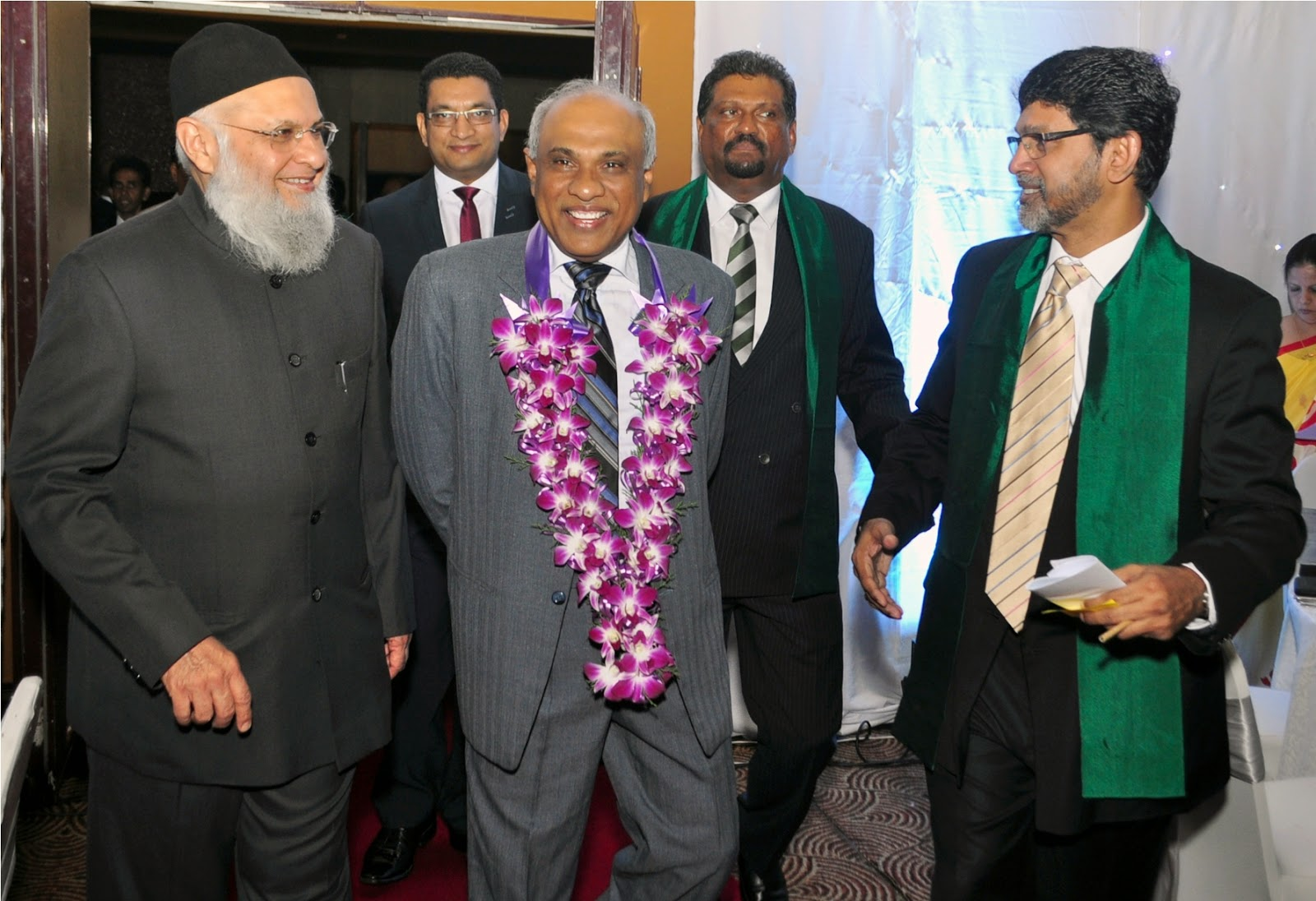 J-Chief Guest Arrival- Mr. Sarath Palitha Fernando, President's Council, Attorney General of Sri Lanka..JPG