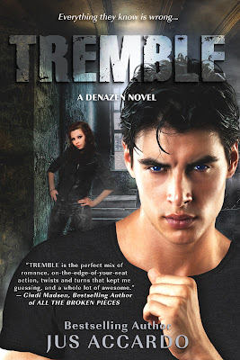 |Cover Reveal| Tremble by Jus Accardo