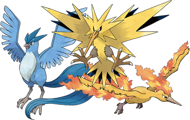 how to catch articuno zapdos and moltres in pokemon yellow