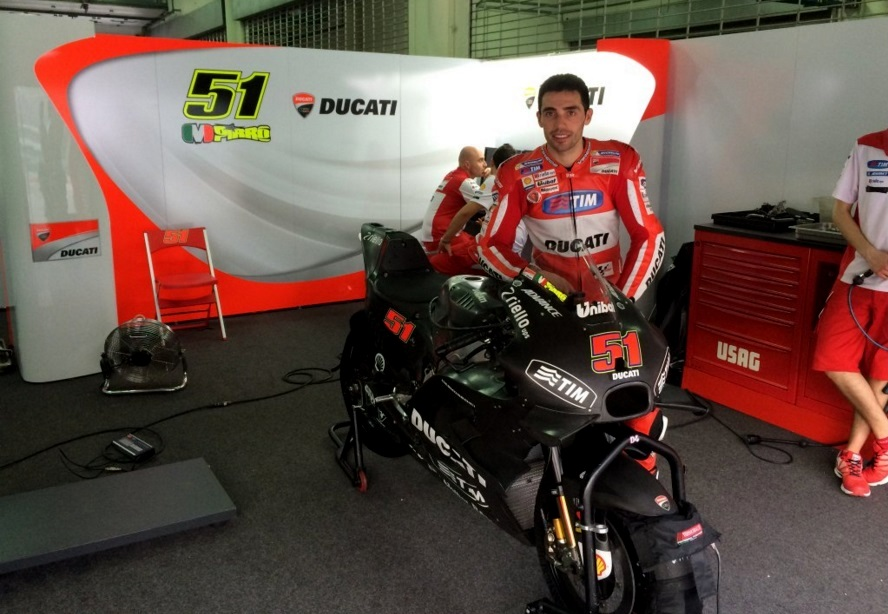 MotoGP : Begini tampang Desmosedici GP16 yang akan digunakan Ducati pada musim 2016 ini