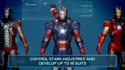Become billionaire Tony Stark as Iron Man in this free, fast-paced
