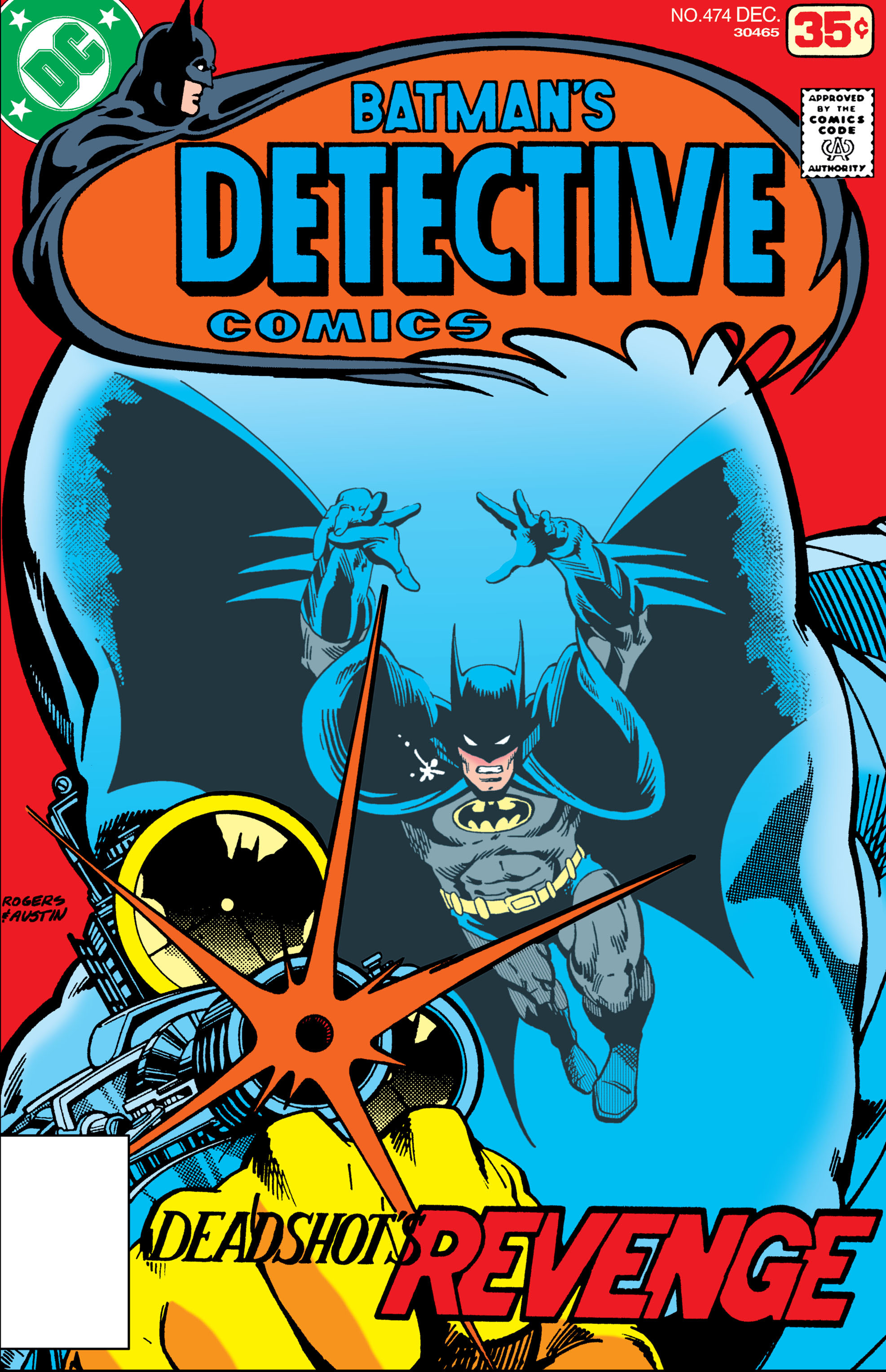 Detective Comics (1937) 474 Page 1