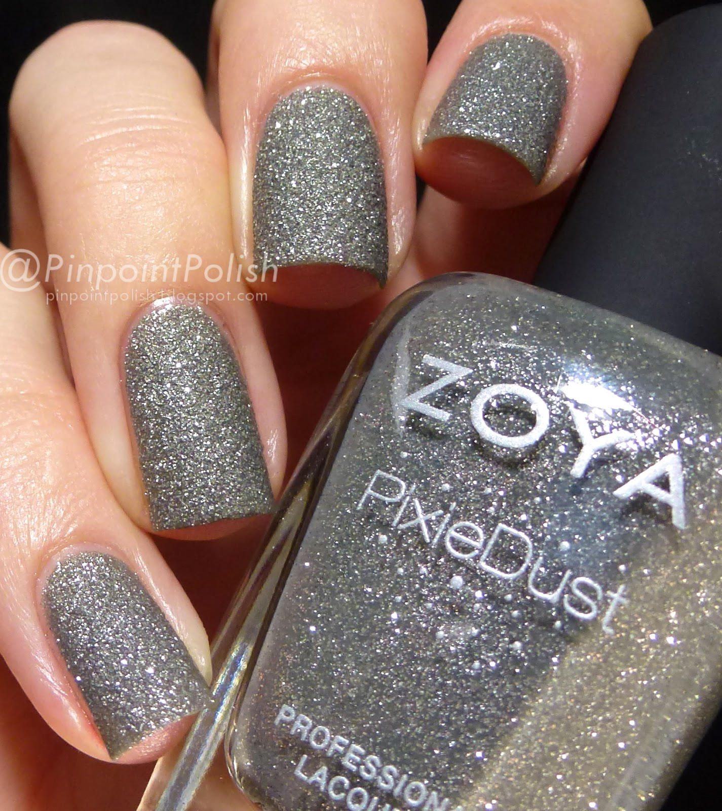London, Zoya, Pixie Dust, swatch