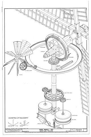 Схема ветряной мельницы