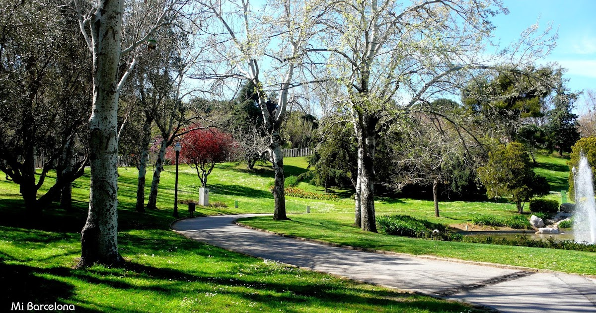 Mi barcelona jardines de moss n cinto verdaguer for Jardines de barcelona