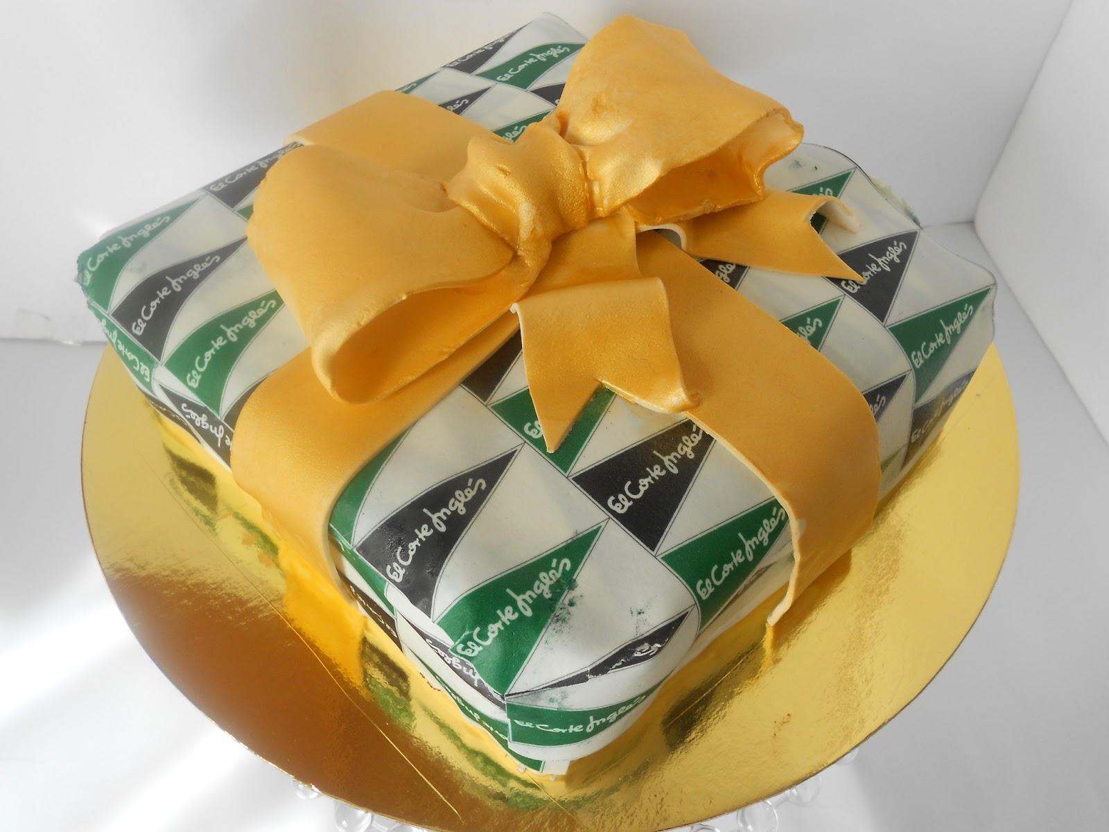 Tarta regalo el corte ingl s tartas galletas cupakes y - Papel pintado el corte ingles ...