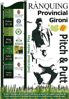 ranquing Gironi de Pitch & Putt