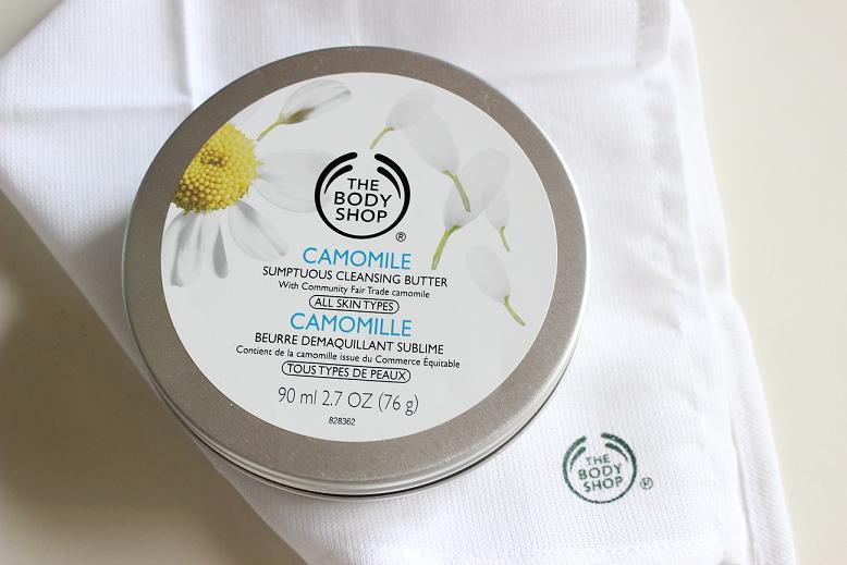 Rumiankowe masło do demakijażu The Body Shop