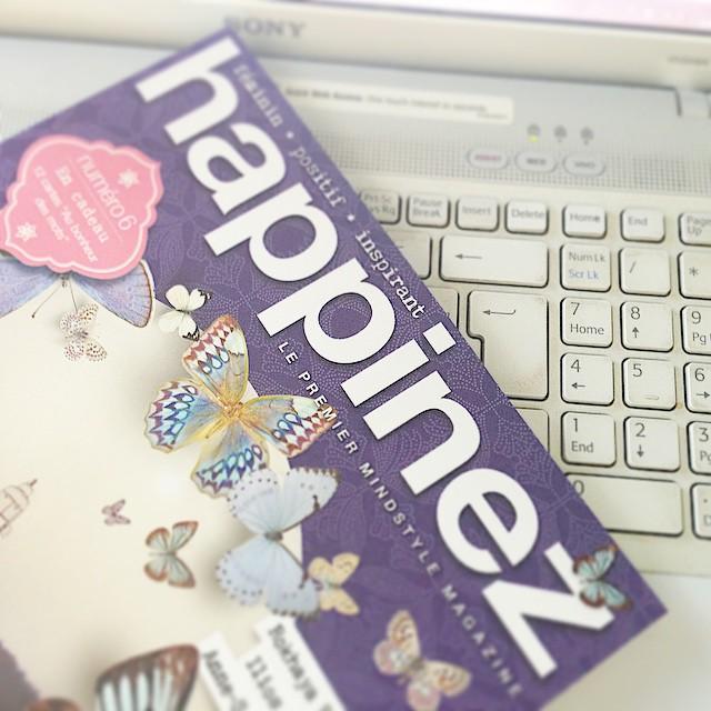 magazine bonheur happinez