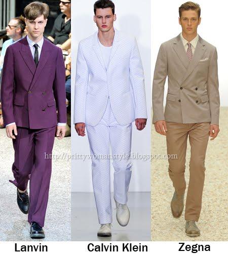 Мъжки костюми Тенденции Пролет/Лято 2012