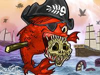 Feed Us Pirates | Juegos15.com
