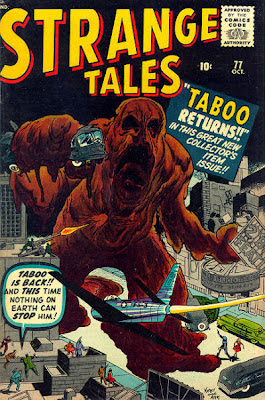 Strange Tales, Taboo returns