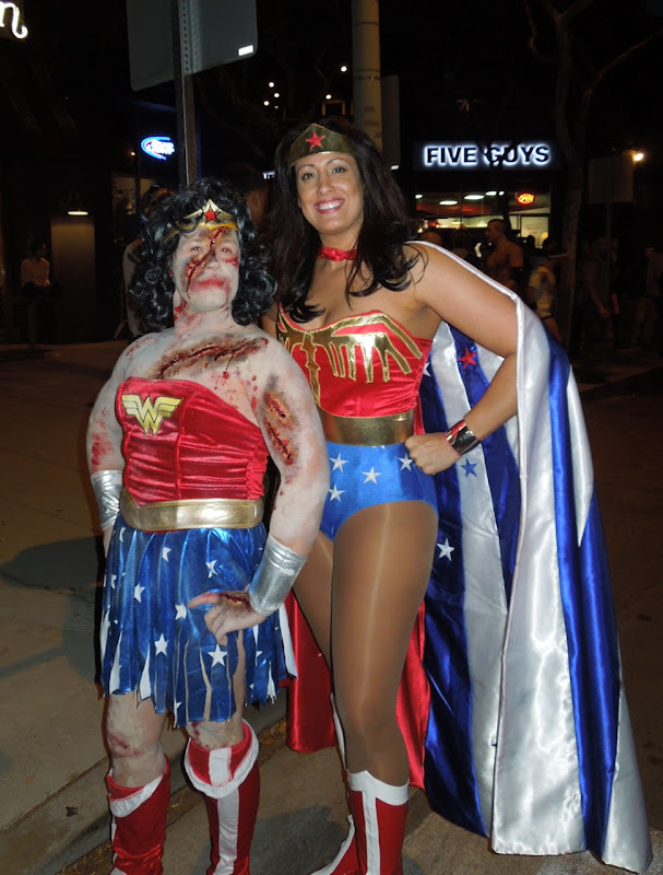 West Hollywood Halloween Carnaval Wonder Woman