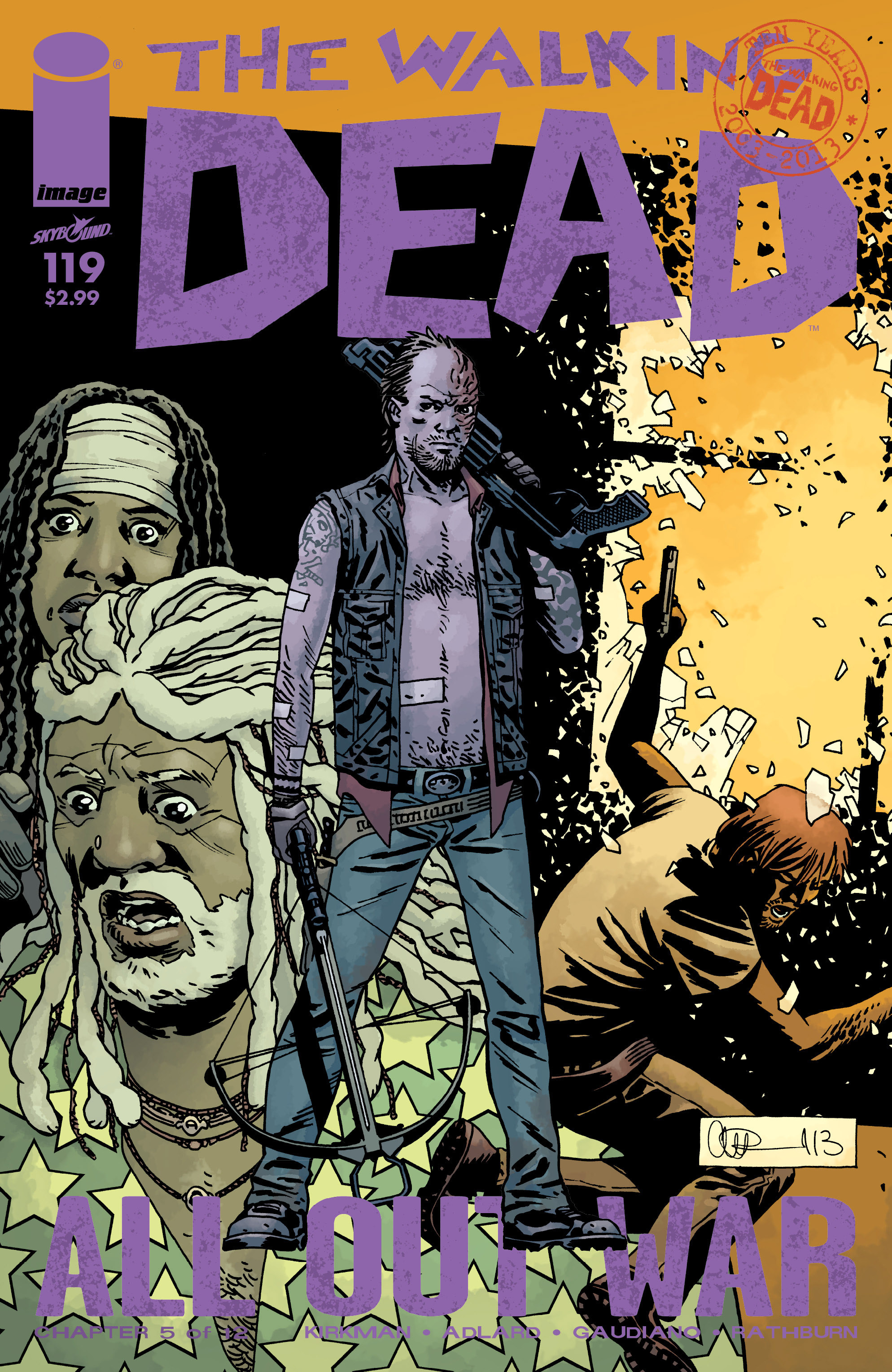 The Walking Dead 119 Page 1