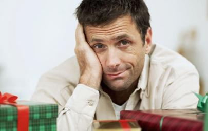 What NOT To Buy Your Boyfriend For Christmas  - unhappy sad man guy confused shy