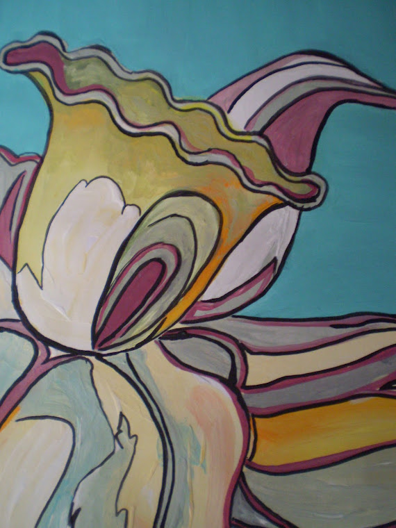 a different daffodil,  detail2
