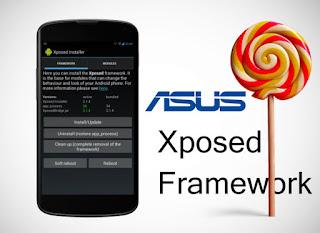 Install Xposed framework on Zenfone Lollipop