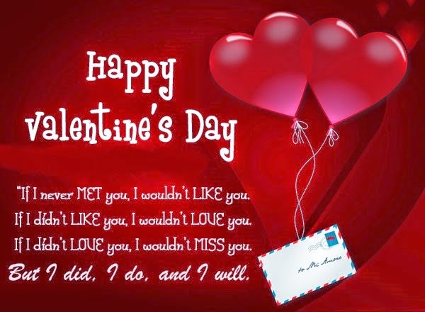 Valentines day quotes for her quotesgram for Sweet valentine day quotes for her